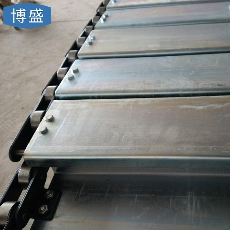 厂家定制承重输送平链板  排屑机链板  冷却流水线输送链板
