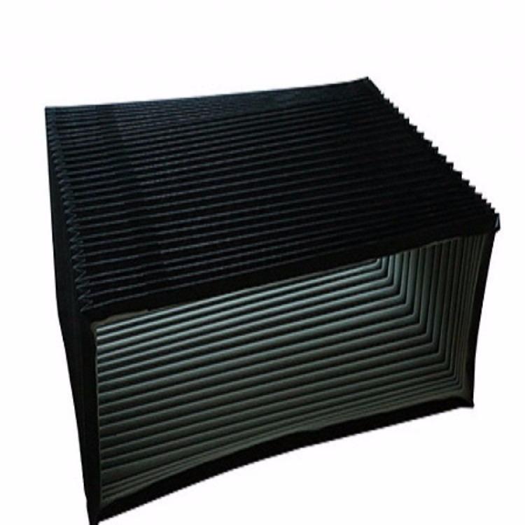 机床风琴防护罩   防水  防油来图加工  生产周期短柔性风琴防护罩