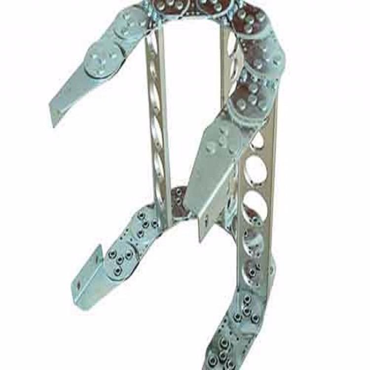 钢铝拖链 加钢棍 渗碳承重 型钢制拖链