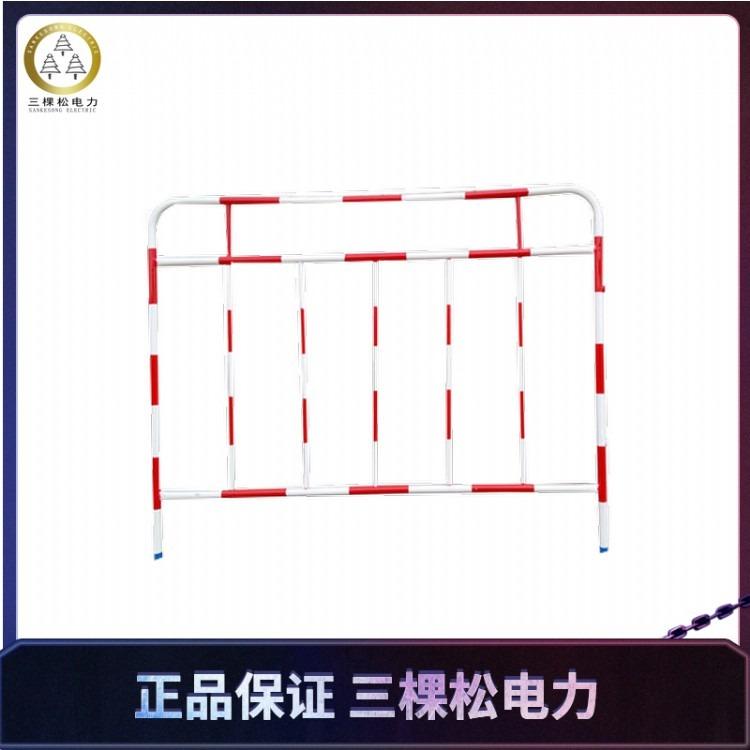 铁质安全围栏 铁制安全护栏 铁质变电站护栏 铁制组合式安全围栏