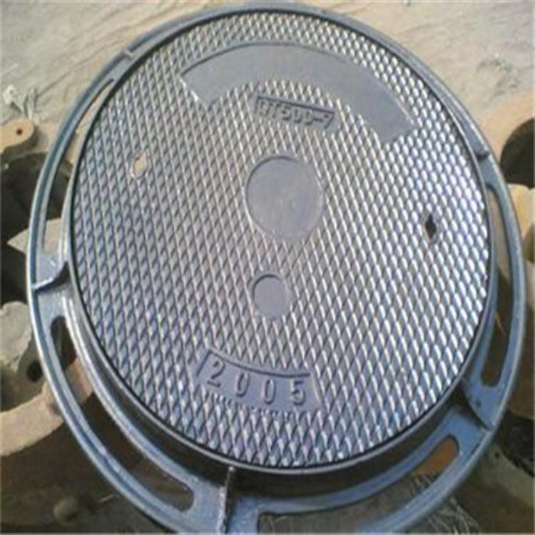 雨水铸铁井盖300*500单篦电力井盖
