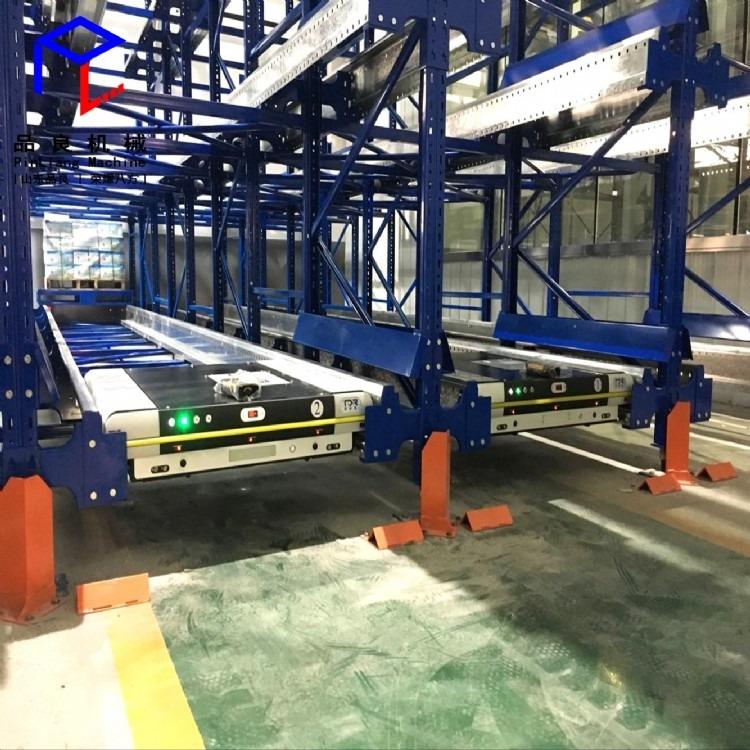 穿梭车货架立体仓库货架 重型货架自动化存储货物穿梭车货架