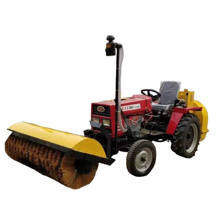 森创拖拉机式扫雪机 路面扫雪吹雪一体机价格 地面雪清理机 厂家直销