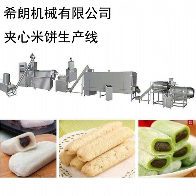 食品膨化机 宝岛米饼生产机械