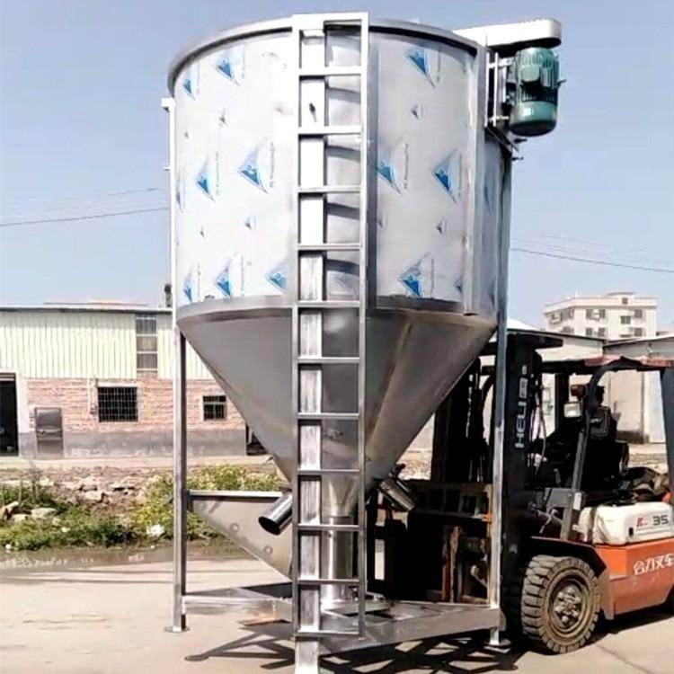 我们专做大型塑料搅拌机 四川塑料螺杆混料机 佛山不锈钢拌料机厂