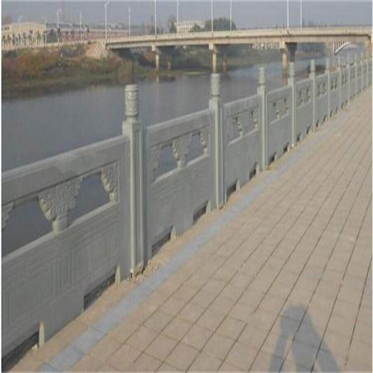嘉祥河道青石栏杆石栏杆生产定制