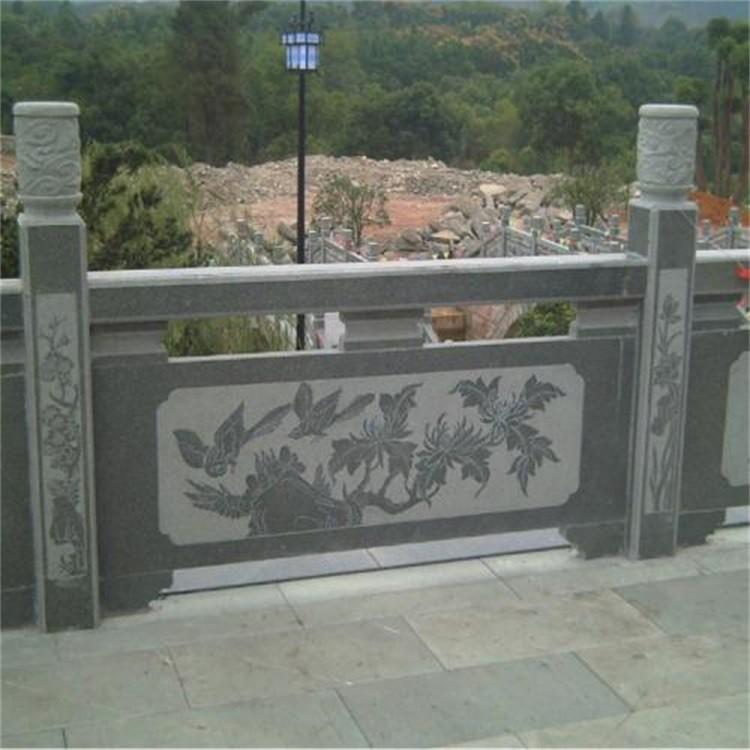 四川河道花岗岩栏杆河道石栏杆生产定制