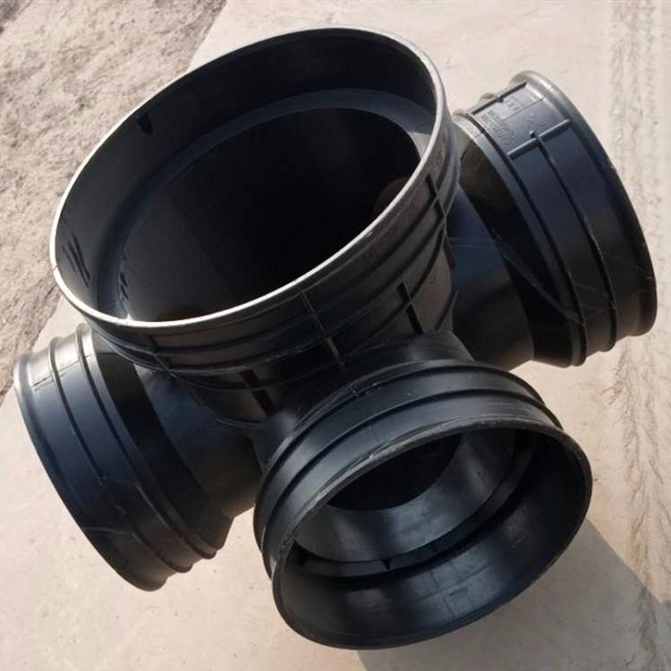 厂家直销各种型号塑料检查井 小区工程排污塑料井