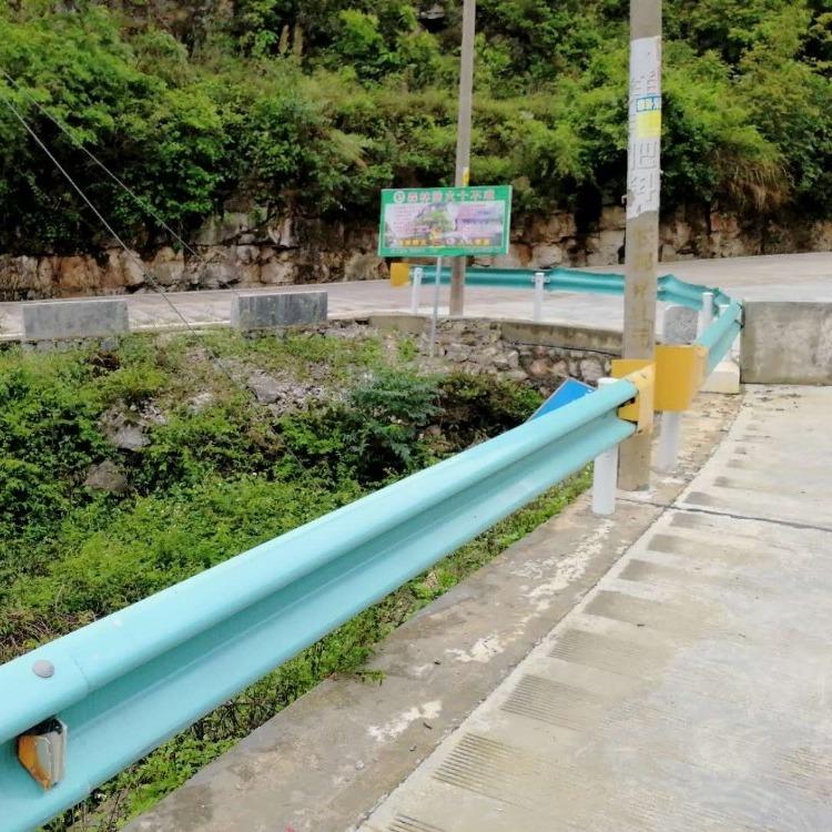 贵州遵义公路保护栏安全保护栏防撞保护栏道路保护栏牛角保护栏