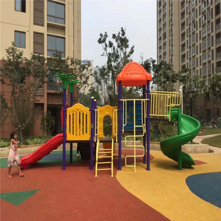 沧州大型滑梯组合 校园滑梯生产供应