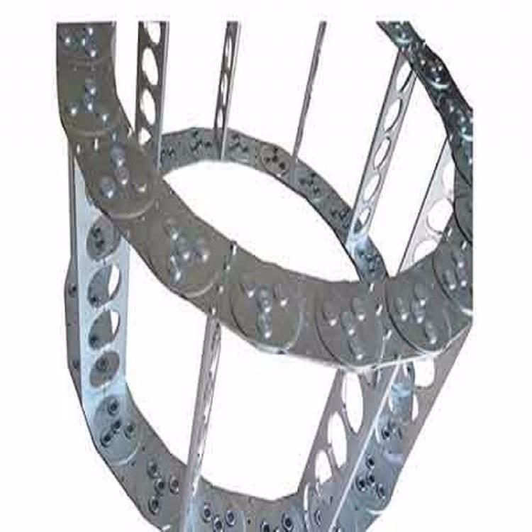 渗碳   镀锌钢铝拖链   全封闭式钢制拖链