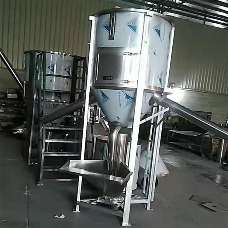 佛山螺杆搅拌机批发 直销江门立式不锈钢拌料机 佛山混料机厂家