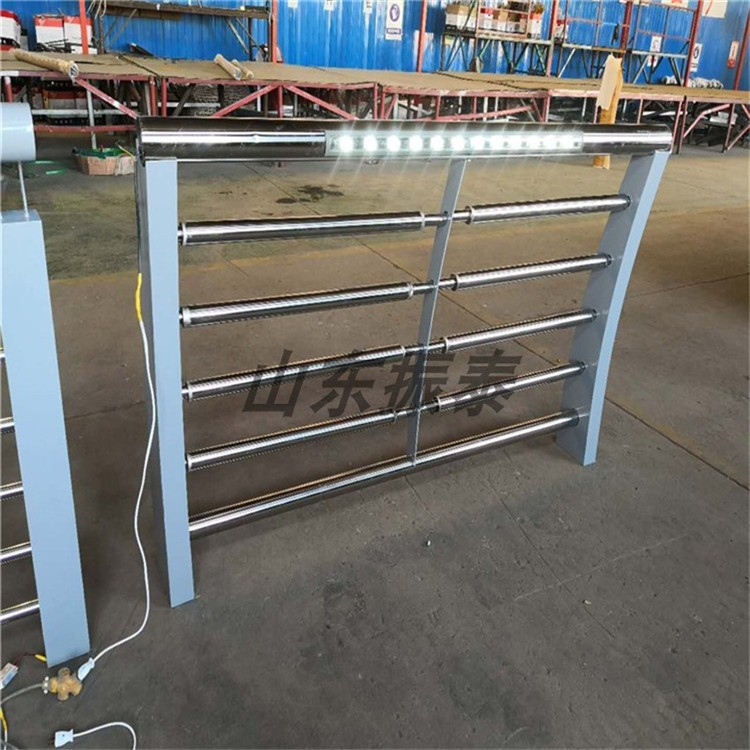 河道灯光栏杆生产厂家 桥梁灯光栏杆批发价