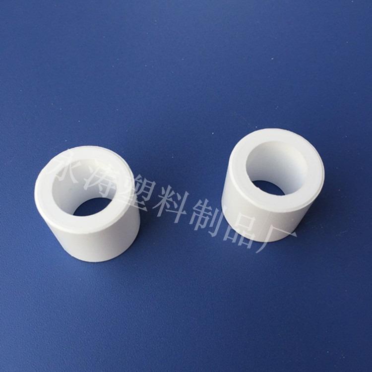 专业生产聚四氟乙烯轴套 食品级绝缘聚四氟轴套 耐高温四氟轴套 导套厂家