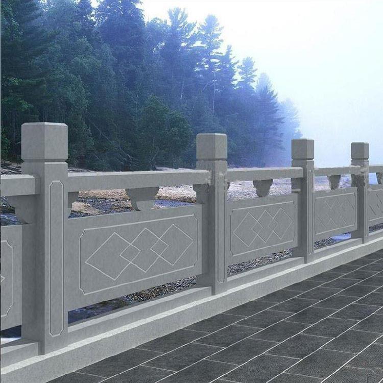 品质好的 花岗岩石栏杆 别墅石栏杆 大理汉白玉石栏杆