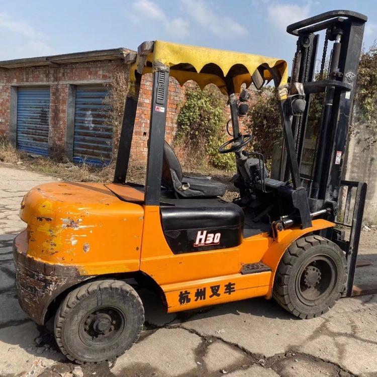 低价出售杭州3吨叉车 品牌二手叉车超低价促销包邮