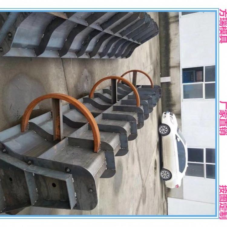 方瑞模具加工制造 标准型号隔离墩模具 水泥隔离墩模具 生产厂家