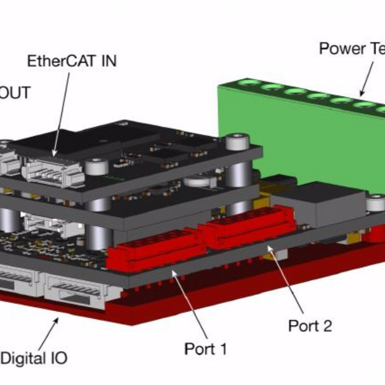 Synapticon赛普肯 方形直流驱动器SOMANET系列-适用于协作机器人