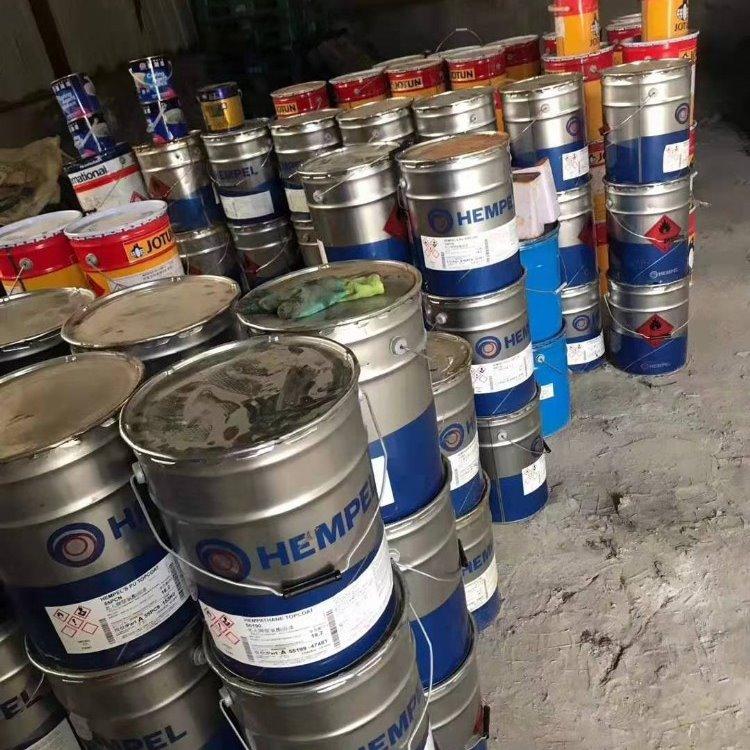 宁波回收醇酸油漆回收过期醇酸油漆厂家醇酸油漆回收价格