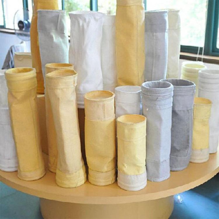 树润定制批发布袋除尘器布袋滤袋 工业过滤袋 常温涤纶针刺毡除尘布袋
