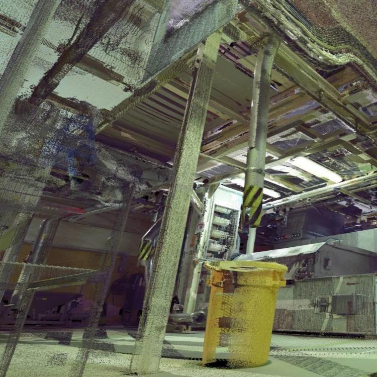 昆山陆家镇行展科技电网电力系统巡查三维激光扫描技术逆向检修工作中使用3D扫描仪检测修复位置