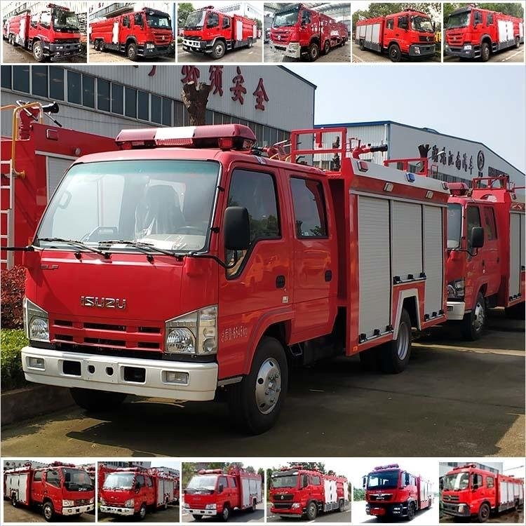 国六消防车东风多利卡3吨泡沫消防车消防救火车灭火车价格配置参数厂家直销