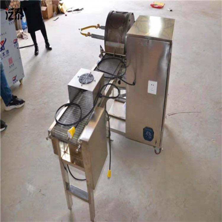 清华同创大型鸭饼机视频
