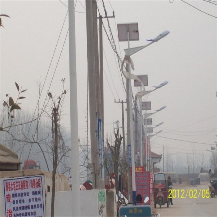 小区道路照明灯 崇左6米太阳能路灯 太阳能A字臂照明灯