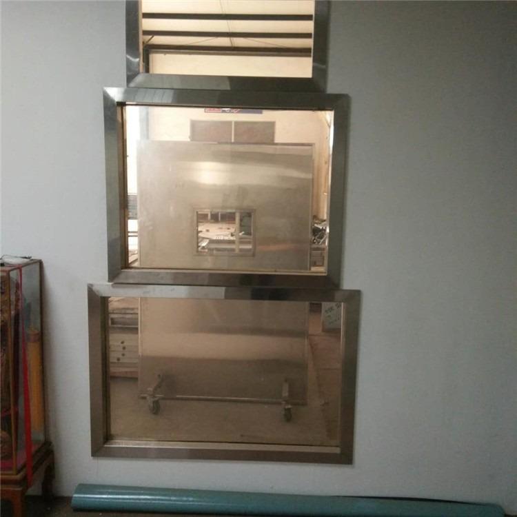 厂家直售高铅含量高透明度X光室铅玻璃 ct室铅玻璃 dr室铅玻璃
