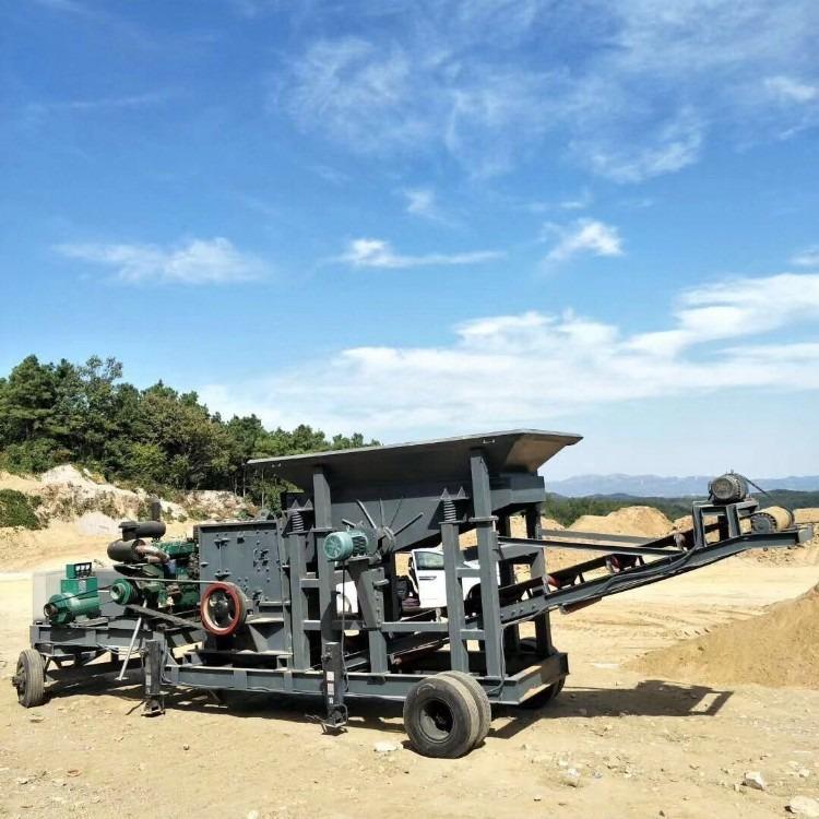 移动式制砂机一级产品 移动式 制砂机移动式制砂机移动式制砂机厂家生产线