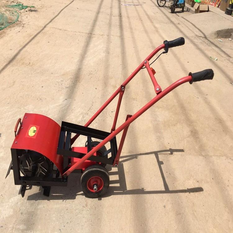 农用山地电动锄草机 电动旋耕机 电动施肥除草机神牛机械全年供应