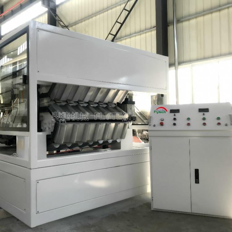 斐捷机械推出新一代合成树脂瓦生产线