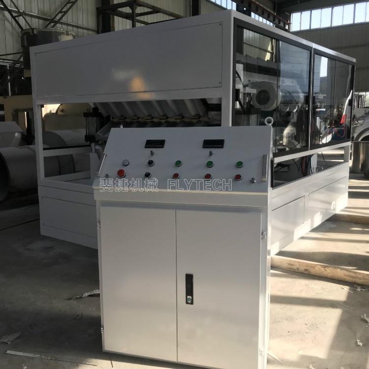 斐捷机械推出第三代合成树脂瓦机器