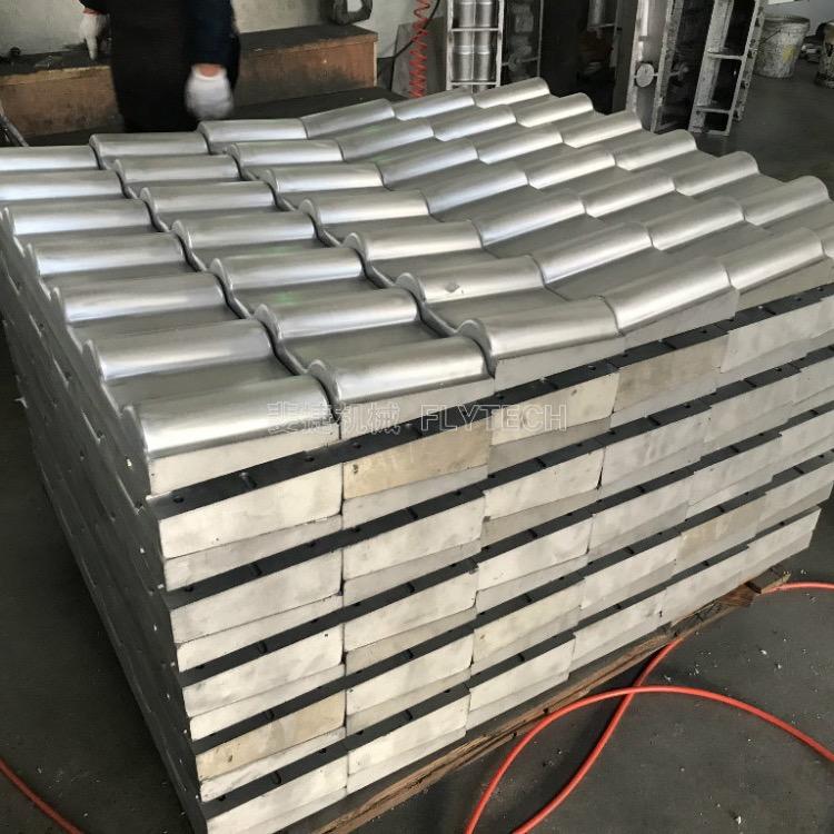 斐捷机械推出第三代合成树脂瓦机器设备
