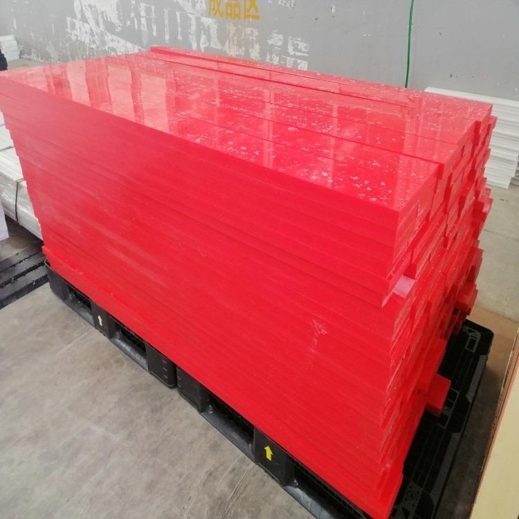 自卸车UPE车厢内衬板 渣土料斗低阻力超高板 高分子聚乙烯板材