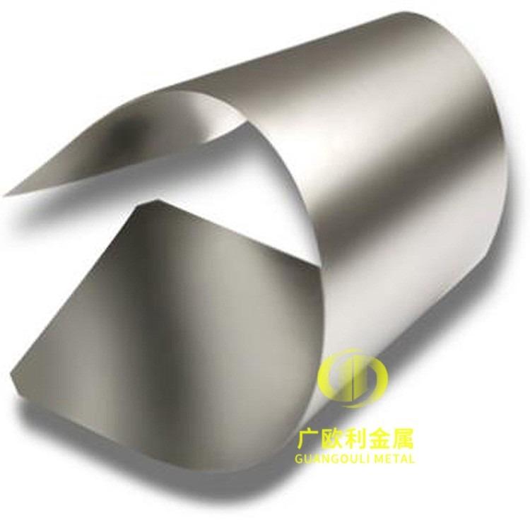 东莞现货高纯度TA1钛带   TA2纯钛带钛箔  99.99%高纯钛合金带