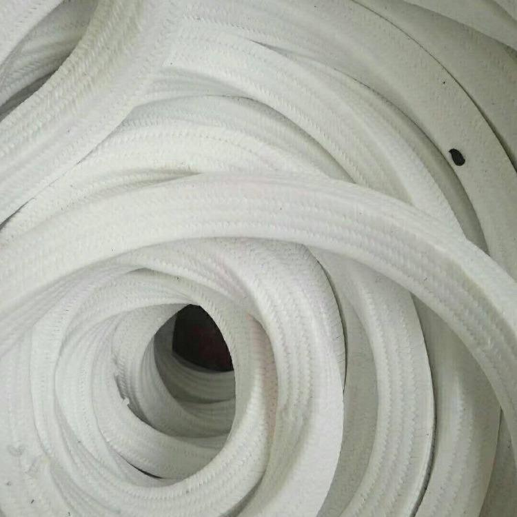 聚四氟乙烯盘根用途使用方法 6*6规格黑色聚四氟乙烯盘根批发价格 腾宇密封自产聚四氟乙烯盘根环
