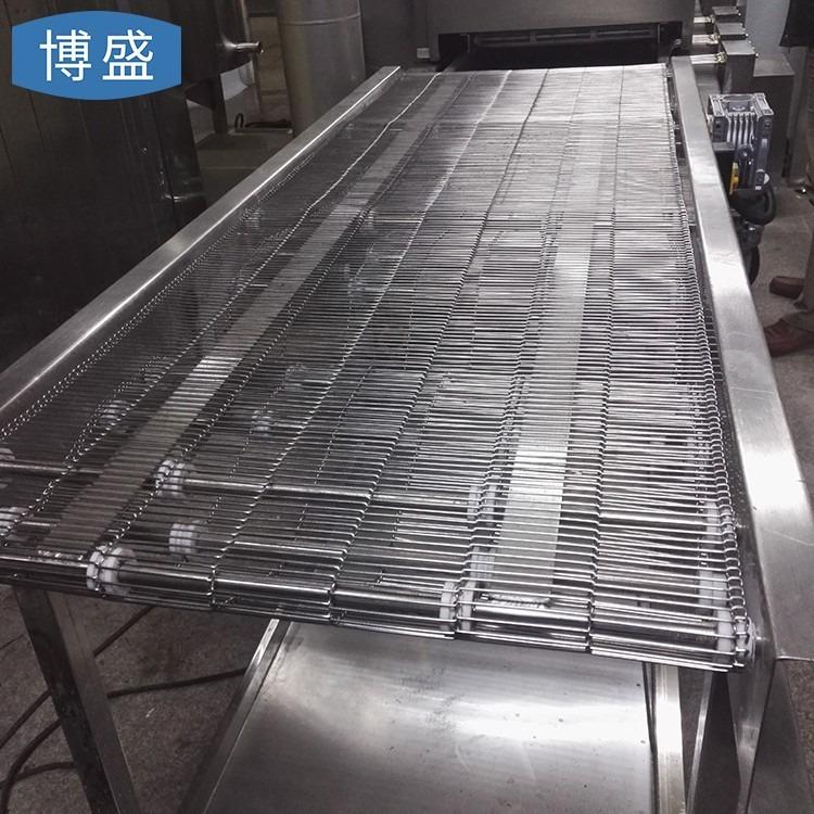 定制不锈钢网带  食品加工流水线回流焊乙型网带  金属梯形网带