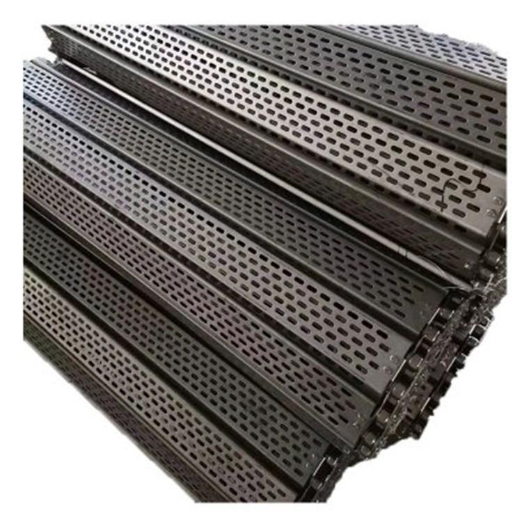 厂家供应搬运设备输送机不锈钢链板 输送链板 流水线链板
