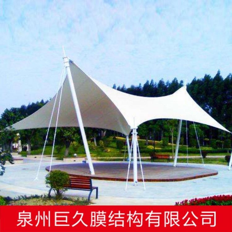 膜结构景观棚工程 膜结构景观棚 款式新颖膜结构