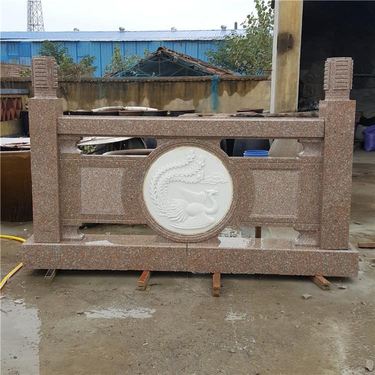 产地厂家定做石雕栏杆汉白玉栏杆石拱桥装饰