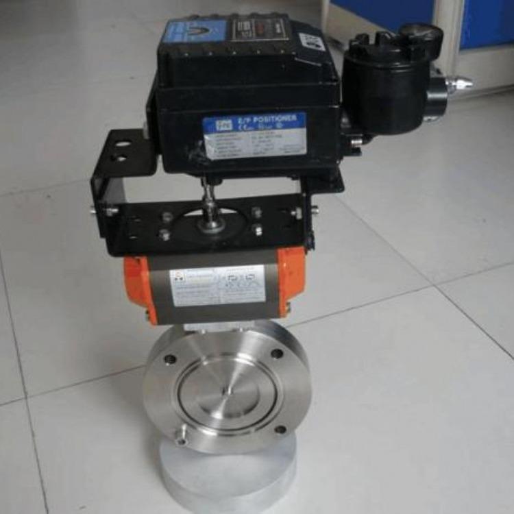 三科阀门厂家供应GDC-5电磁高真空挡板阀