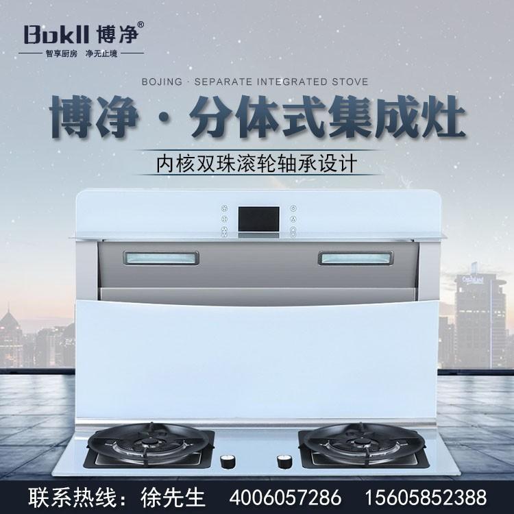 博净电器 分体式集成灶 厨卫 油烟机清洗剂批发