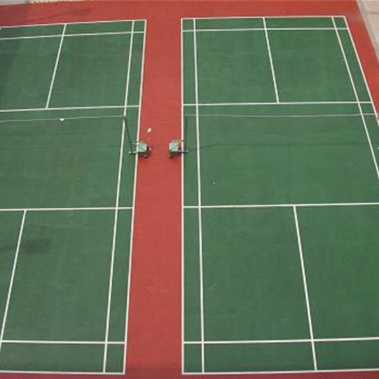济南永鸿建设羽毛球场馆 室内羽毛球场 硅pu羽毛球场 羽毛球场地胶 羽毛球场塑胶地板 羽毛球场地垫