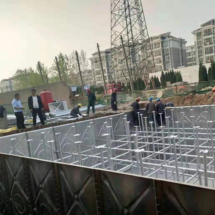 盛达龙源 不锈钢水箱 不锈钢玻璃钢圆水箱 北京不锈钢水箱 安全环保