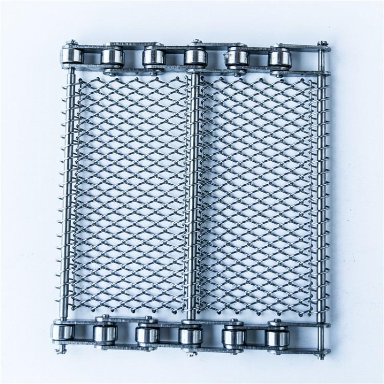 304不锈钢网带 耐高温铁氟龙网带  螺旋输送机网带   清洗机网带