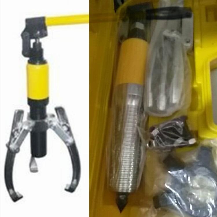 整体式液压拔轮器, 分体式液压拉马, 分体式液压拔轮器