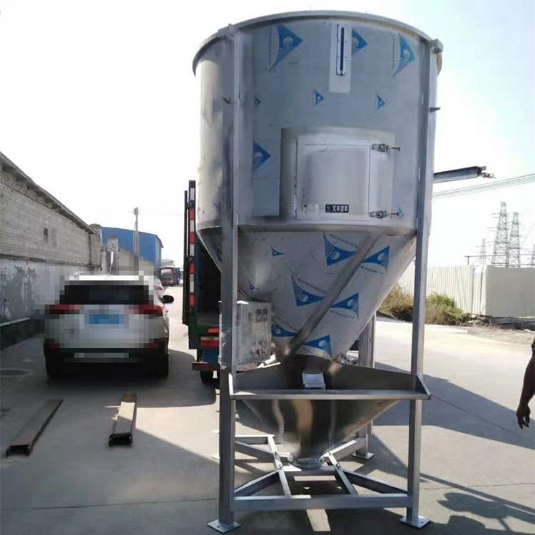 WF-2吨大型搅拌机 不锈钢塑料拌料机 广东立式螺杆搅拌机送货