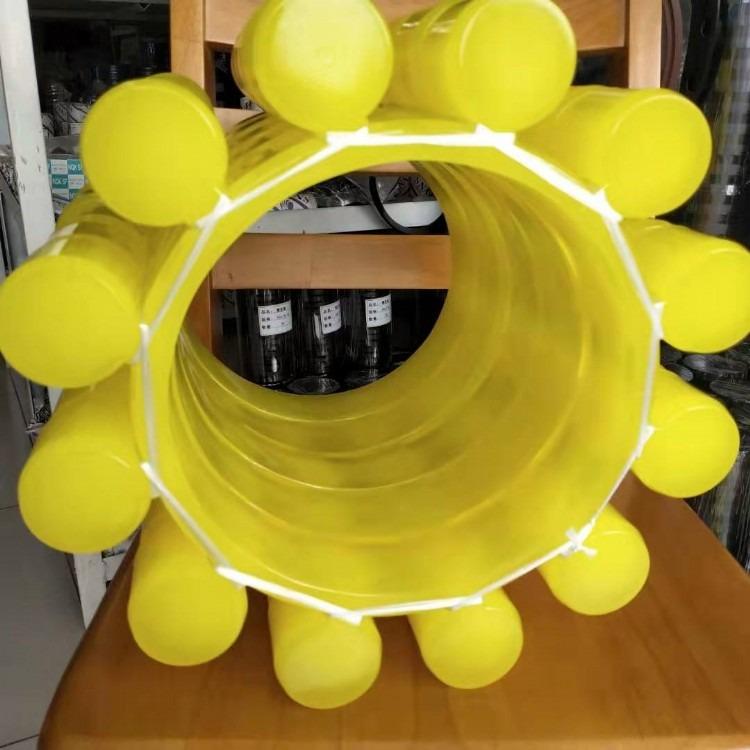 高品质进口聚氨酯橡胶弹性盘   黄色透明聚氨酯弹性盘