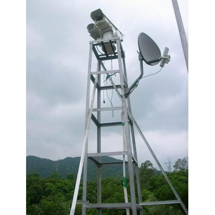 优质边防监控塔 道路监控杆 监控杆